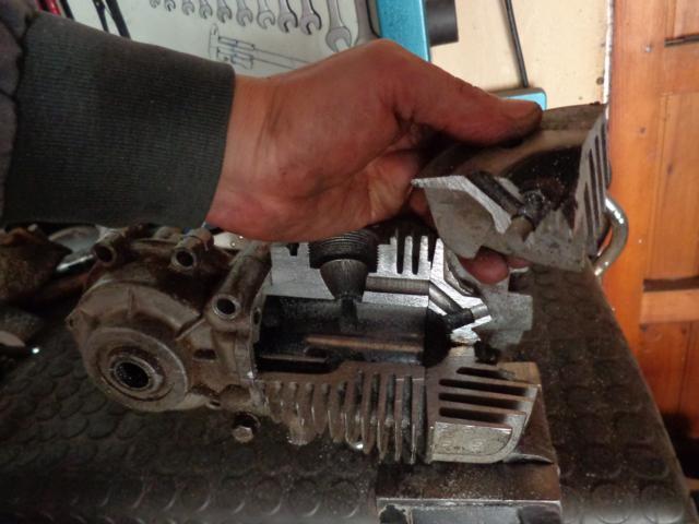 Motor seccionado para exposición Nn1eyv