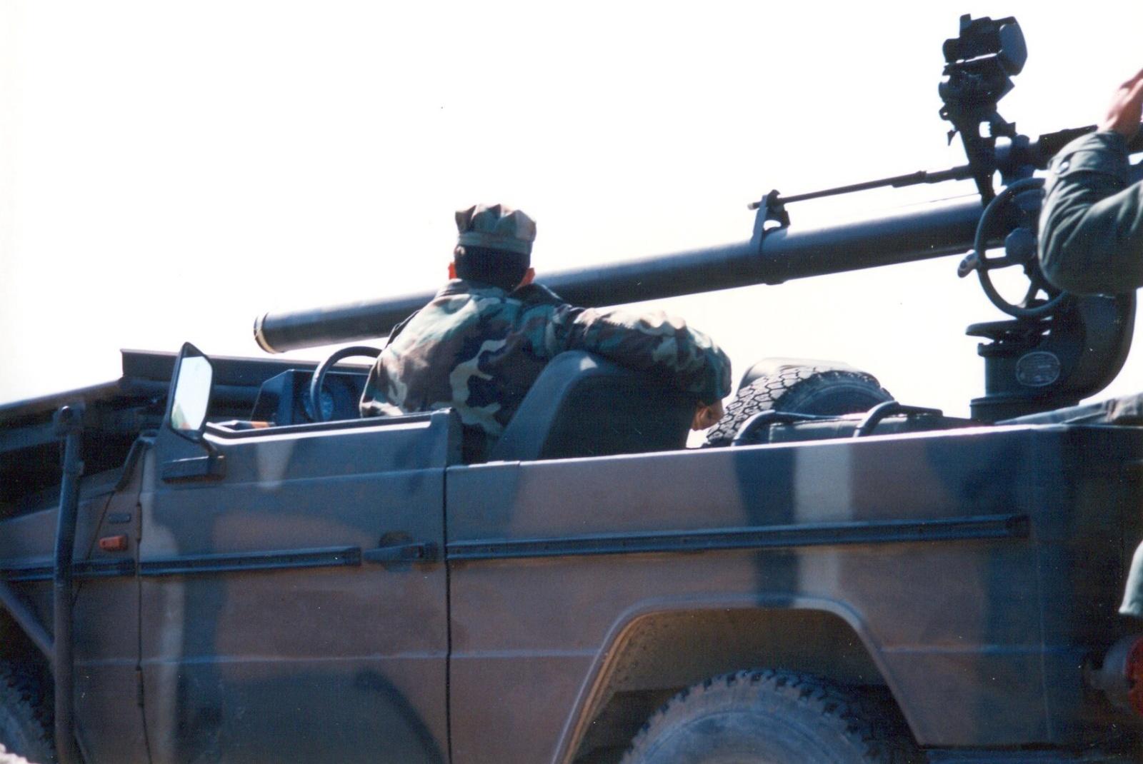 (W462): A Classe G montada em CKD para o exército grego Nodijn