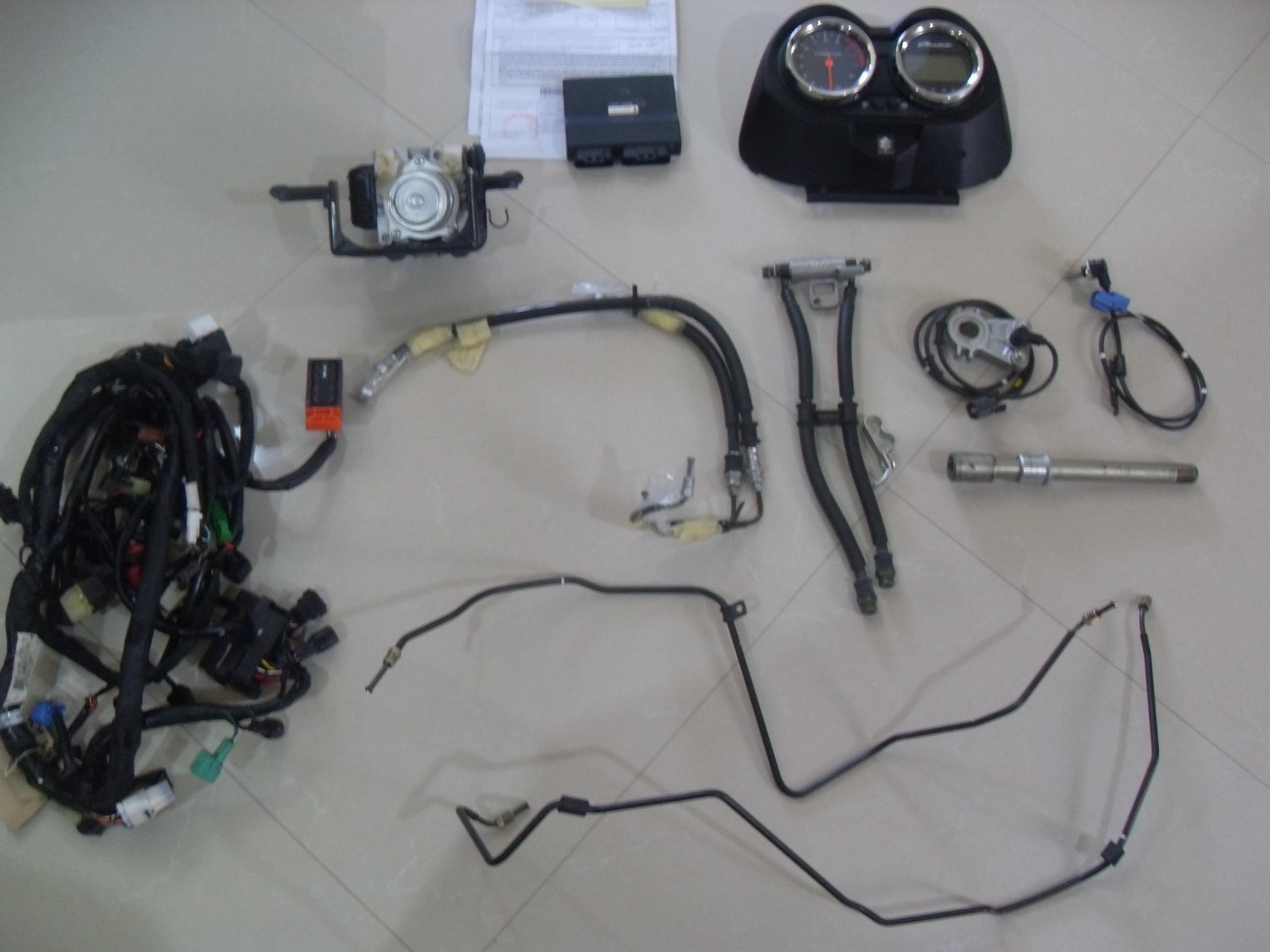 1ª BANDIT 650ie 09/10 DO BRASIL COM FREIO ABS O06ptx