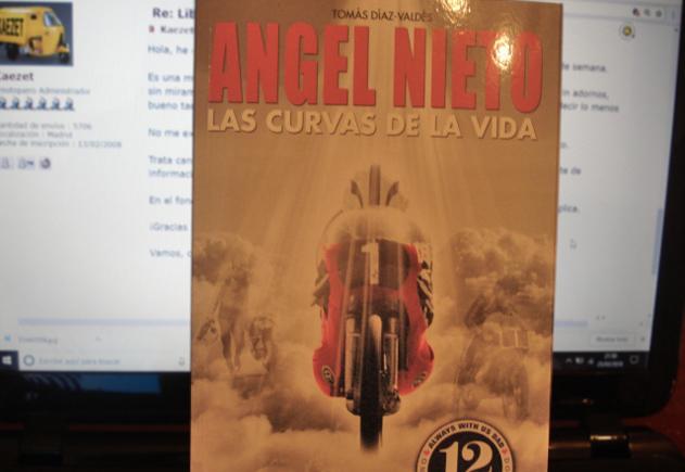 Libro Angel Nieto: Las Curvas de la Vida O5s6ya