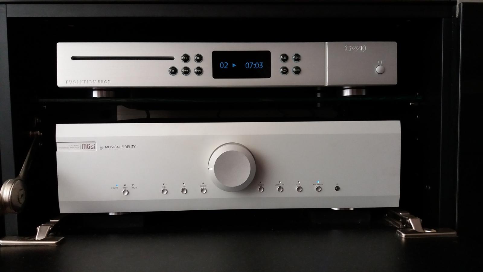 Creek Evolution 50 CD, ¿merece la pena por 1000€ o mejor un DAC dedicado? R0uz5e
