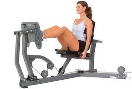 Prensa de piernas horizontal musculos