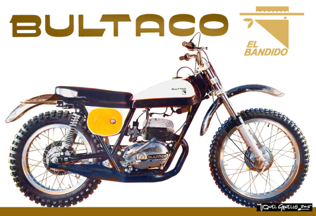 Replica Bultaco TSS 350 - 1967 S6r3nr