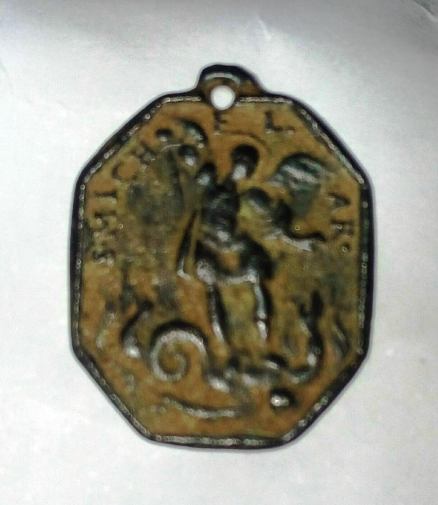 San Miguel Arcángel / Ángel de la Guarda , S. XVII Sbotbs