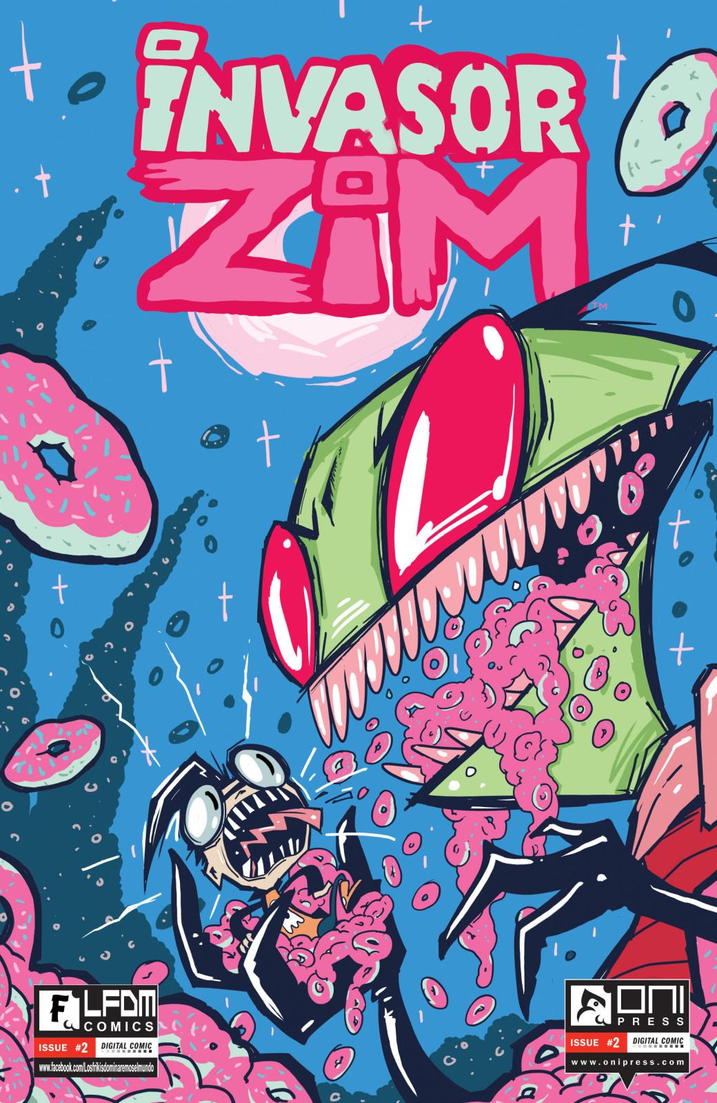 Invasor ZIm comics en español desde el #2 al #4 Sngy2r