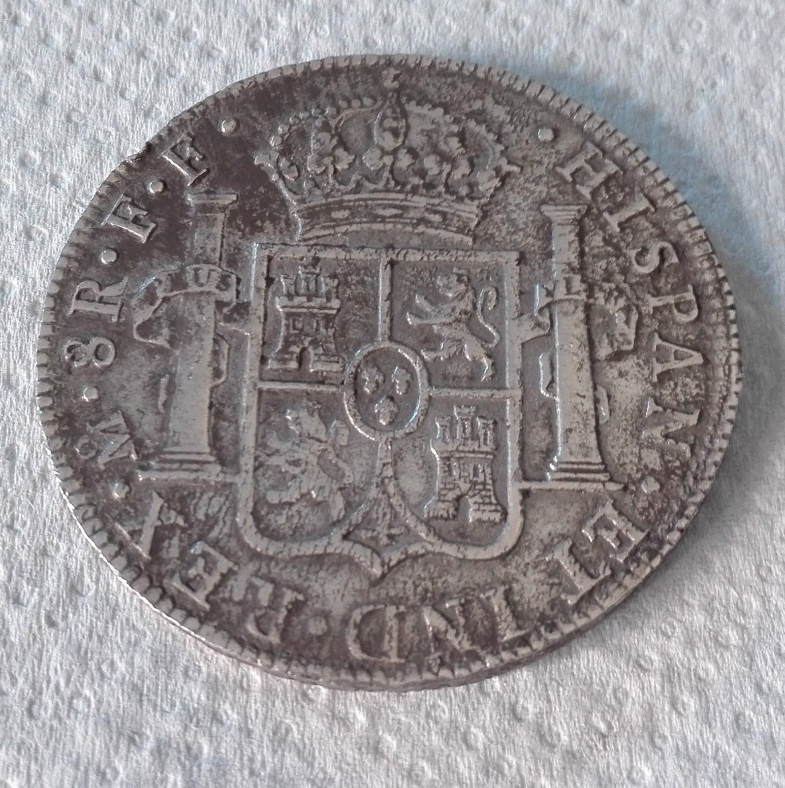 8 Reales. Carlos III. México. 1783. Procedente de El Cazador Syxcv6