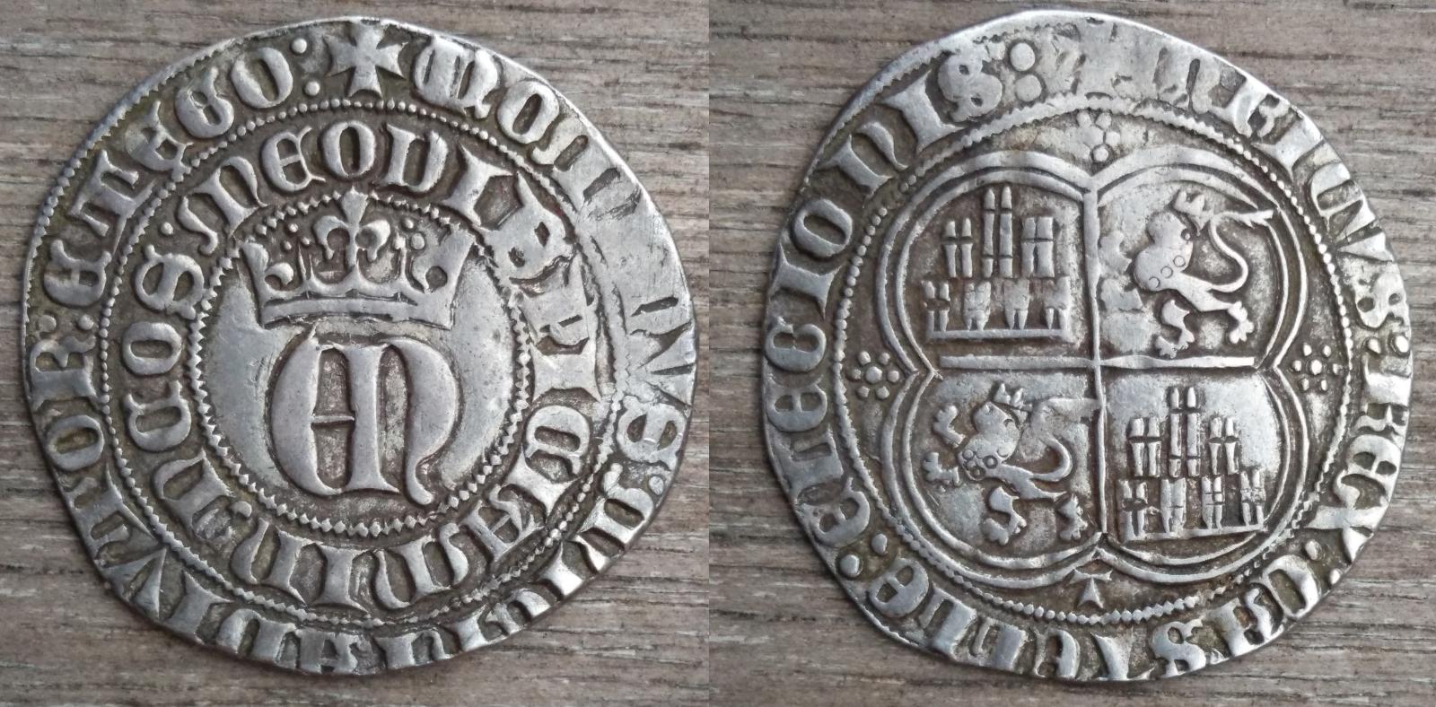 1 REAL Enrique II - Toledo (1373-1379) Wvaelc