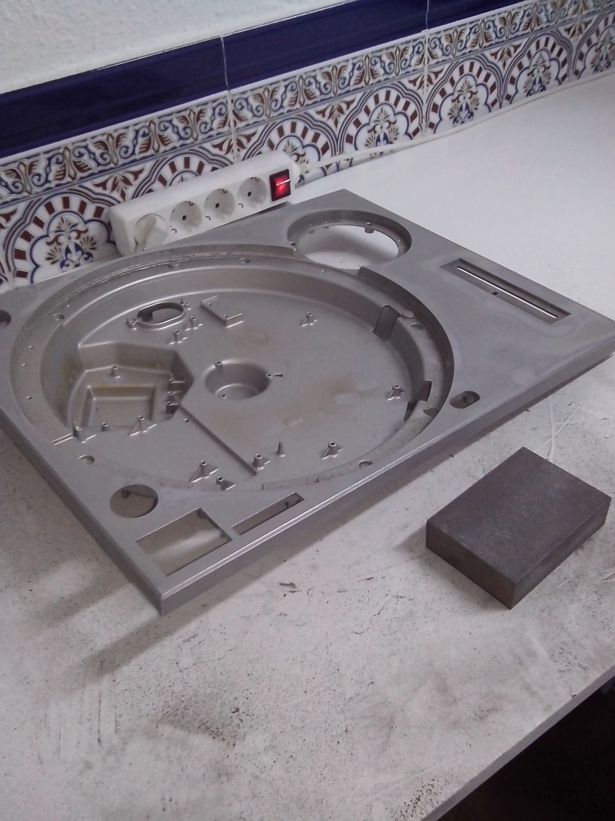 Restauración y mejora de un Technics SL1200 X3d5sj