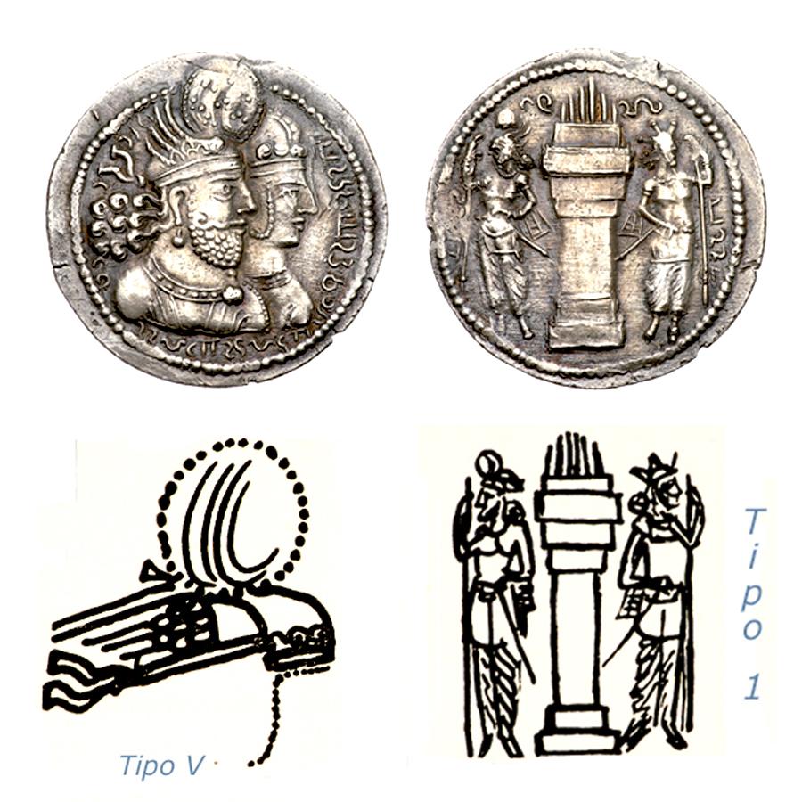 Las coronas de los shas de Persia. Xcko4x