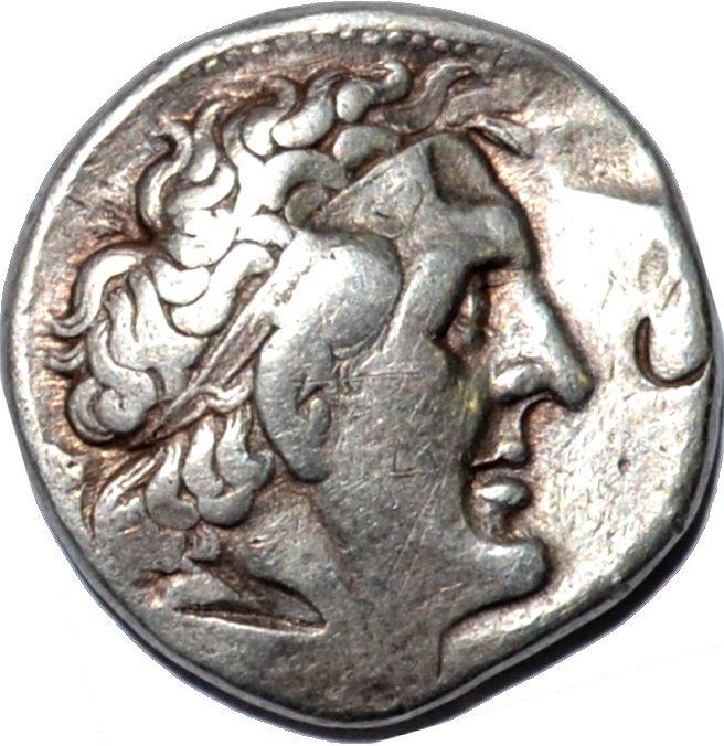 Tetradracma de plata Ptolomeo I Sóter. Reyes Ptolemaicos de Egipto Xm5u80