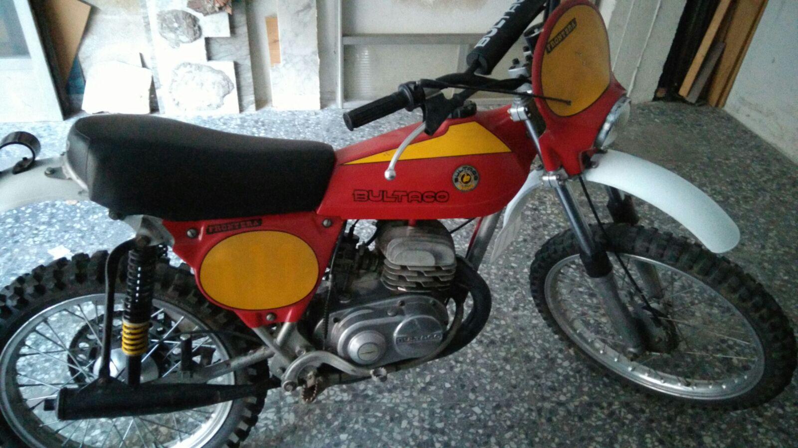 Bultaco Frontera 74 Roja 110k36f