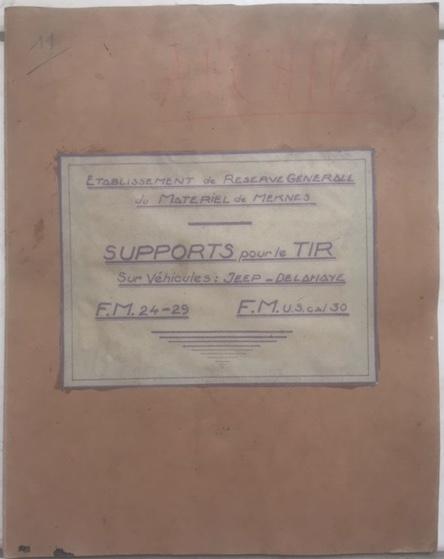 Armement de bord de la VLR DELAHAYE (affut) - Page 2 1175ocy