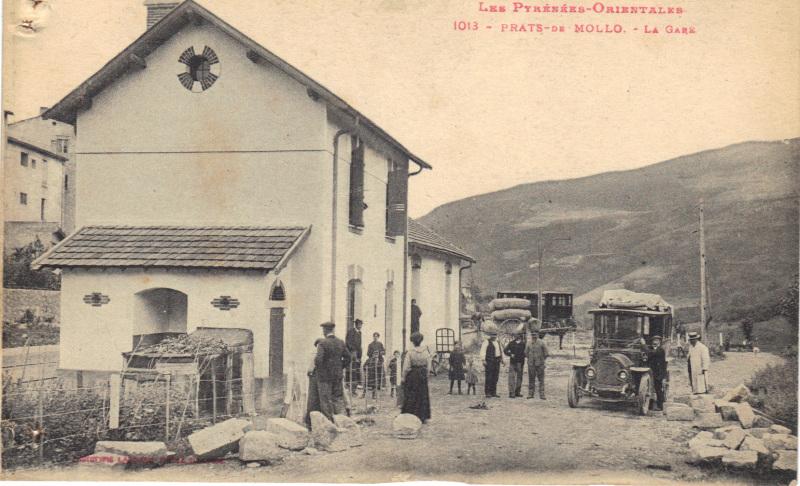 El tren petit de l'Alt Vallespir. 122etzn