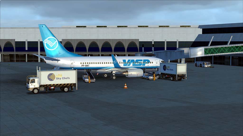 Boeing 737-700 Vasp 14ccpqo