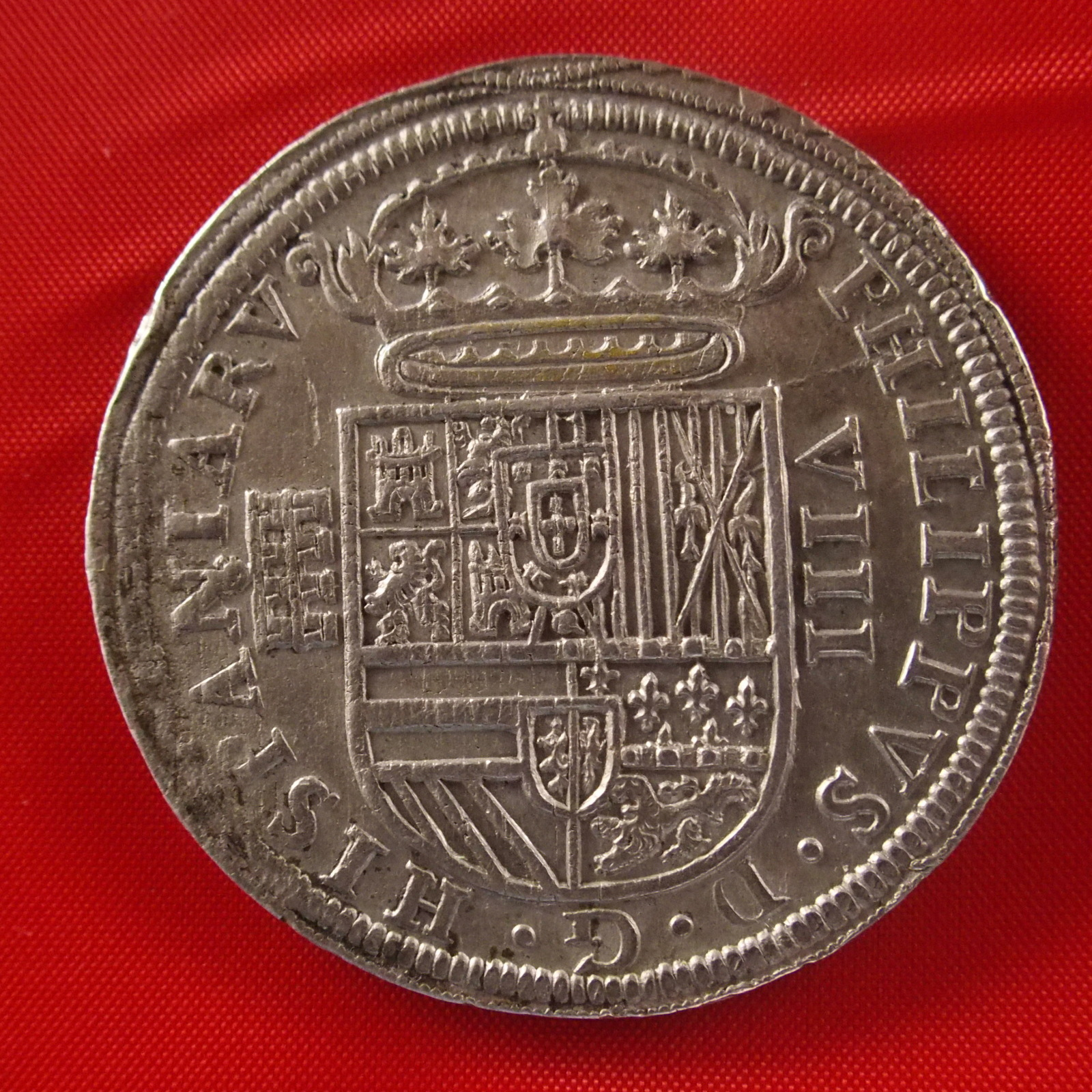 8 reales de 1590. Felipe II, Segovia 14joltj