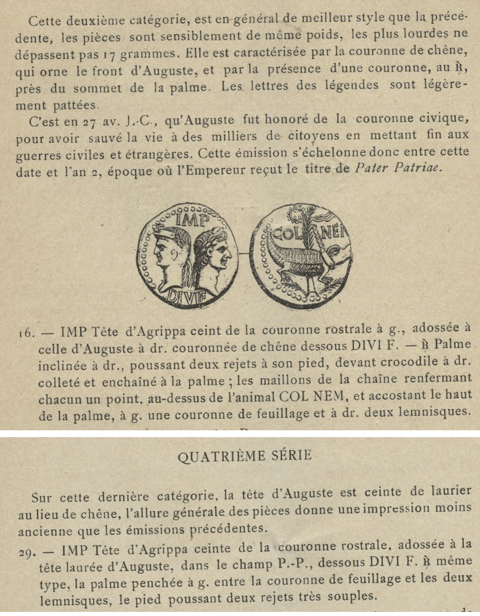Dupondius de Nîmes 14may4g