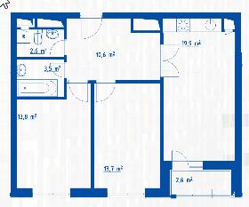 """Планировки квартир в ЖК """"Летний сад"""" - как в целом с этим у Эталона? - Страница 2 14mcnic"""