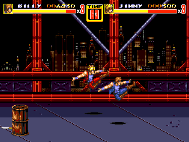 Streets Of Rage 2 -Double Dragon- 1zea59t