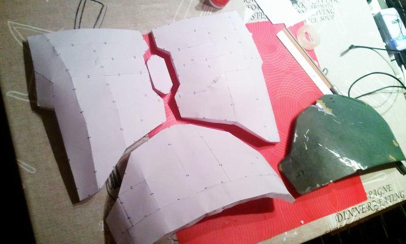 Tutorial detallado de como hacer una armadura con Resina,fibra y PVC(ejemplo custom PRE VIZSLA Death watch) 20jpq80