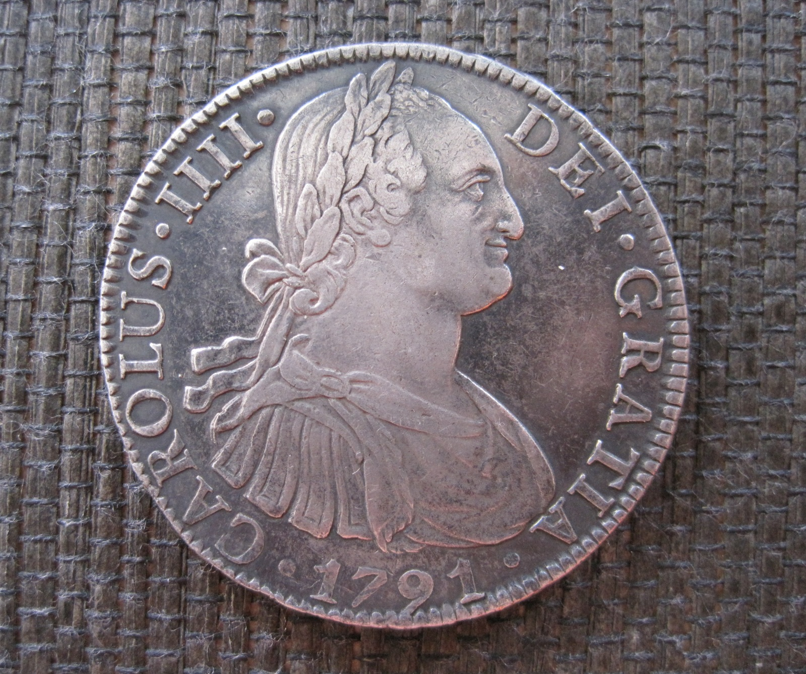 8 Reales 1791. Carlos IV. México 20uzihs