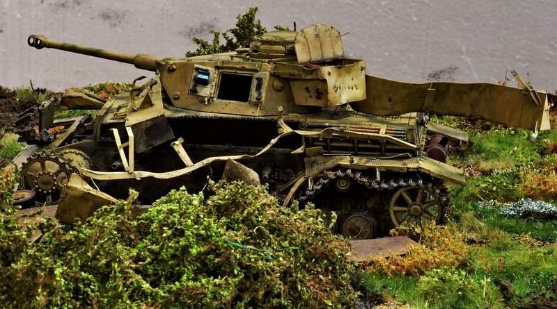 """Pz.Kpfw. IV Ausf. G, или… пламенный привет от """"зверобоя""""… 1/35 2416rd5"""