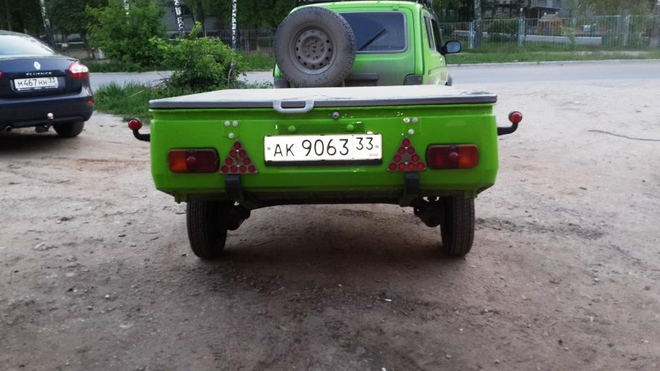 Скиф с балкой ВАЗ 2109 24pyzb9