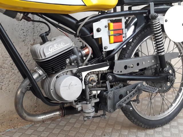 50cc - Itom 50cc de carreras 1967 2500cb6