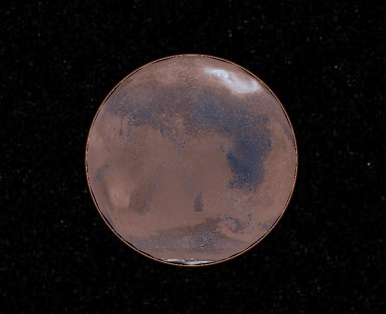 Astrodesenho de Marte 01/05/2016 250v39i