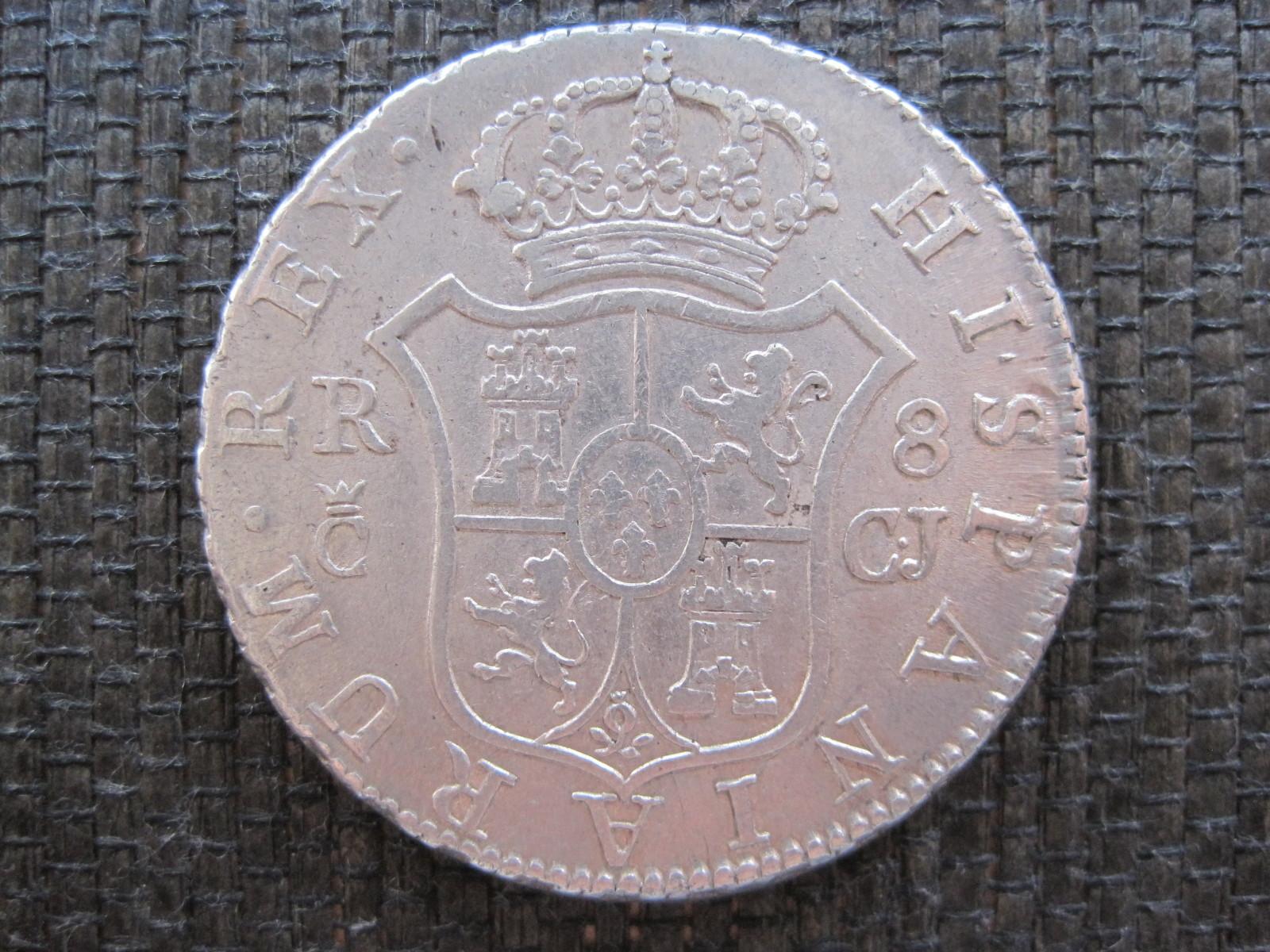 8 Reales 1814 Cádiz 258v0vb