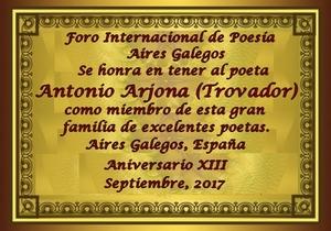 Premios de: Antonio Arjona 25f4v39