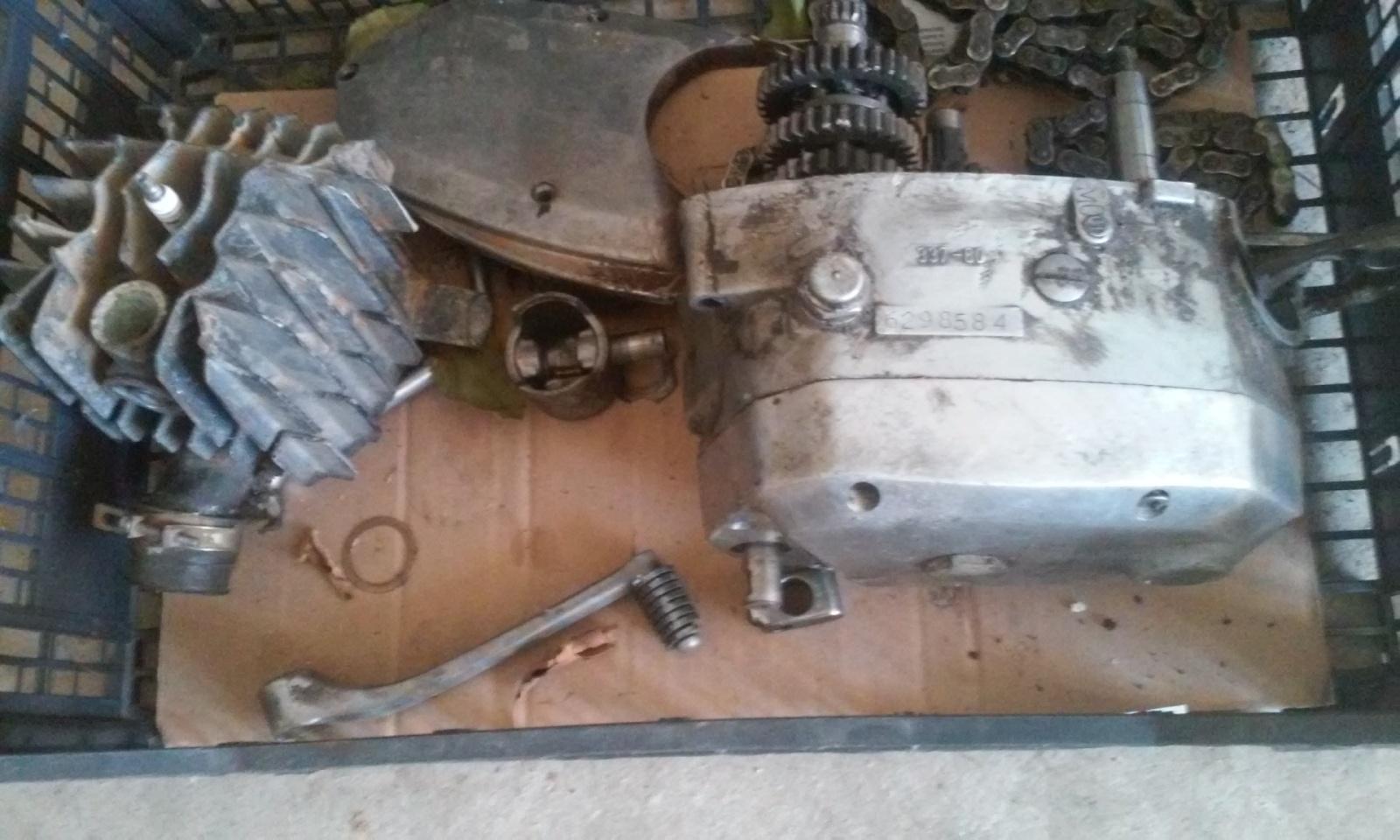 Puch Cobra M-82 TT Agua 263x7yd