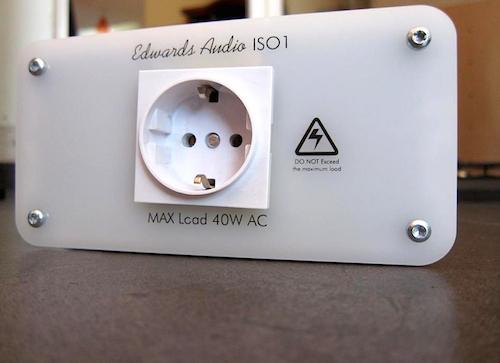 Transformador de aislamiento AC Edwards Audio ISO1: La lámpara de Aladino 27yszl