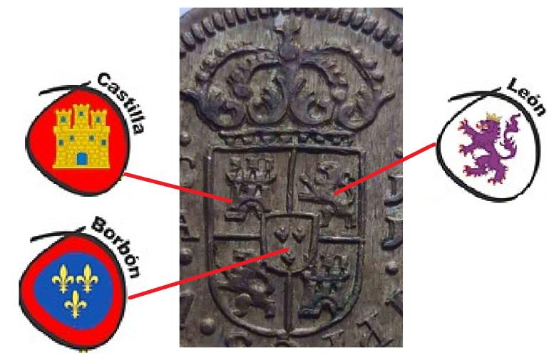 1/2 real 1719. Felipe V. Cuenca 28030a1