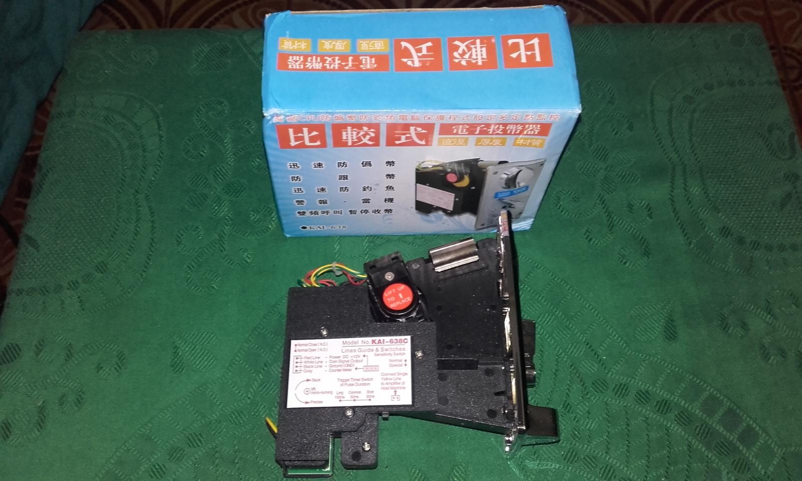 Como conectar un Monedero Electrónico a nuestra Arcade 28r23c