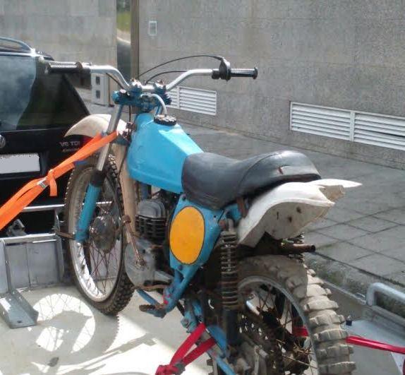 Os presento mi Bultaco Frontera 74 290vt75