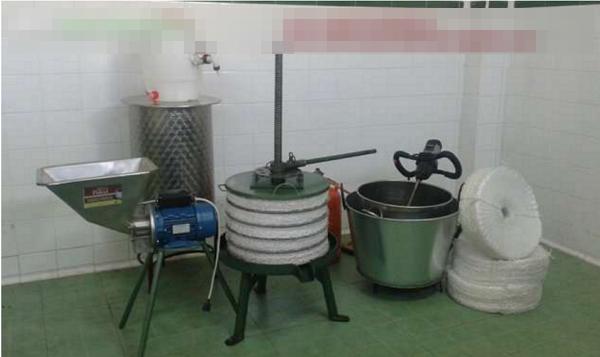 Mini almazara casera, máquina de extracción de aceite. 29vlbex