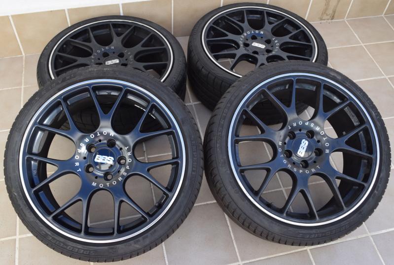 """Llantas BBS Motorsport 19"""" + neumáticos + separadores 2cxeuzl"""