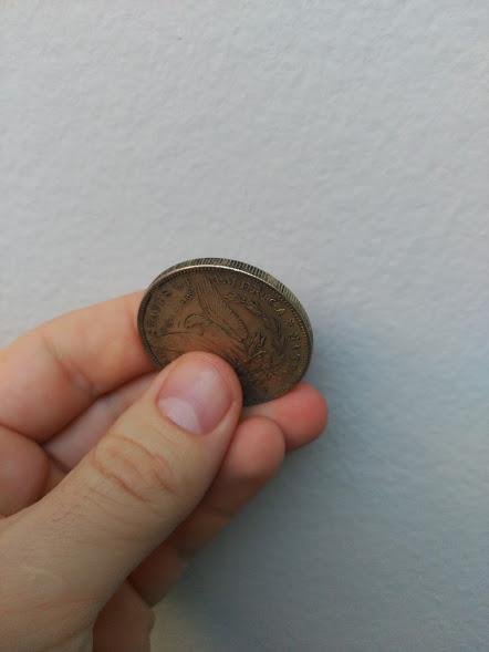 Estados Unidos 1 dólar, morgan 1884 2czrn6s