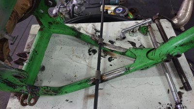 Kawasaki KX 80 Big 1983 - Restauracion 2h5no0m