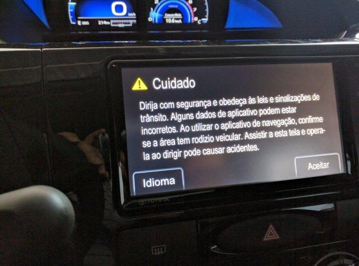 Desativar aviso da central ao ligar o carro 2iuz02o
