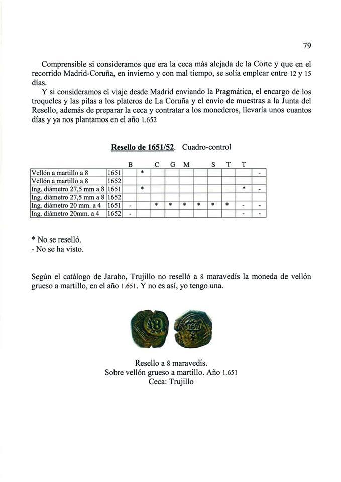 Nuevo libro escrito por Ignis: 'Mis apuntes sobre los resellos. Marcas sobre la moneda de vellón castellana del siglo XVII' 2jcc67o