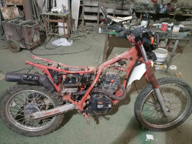 Mi Nueva Honda XL 200R 2l8g1fn