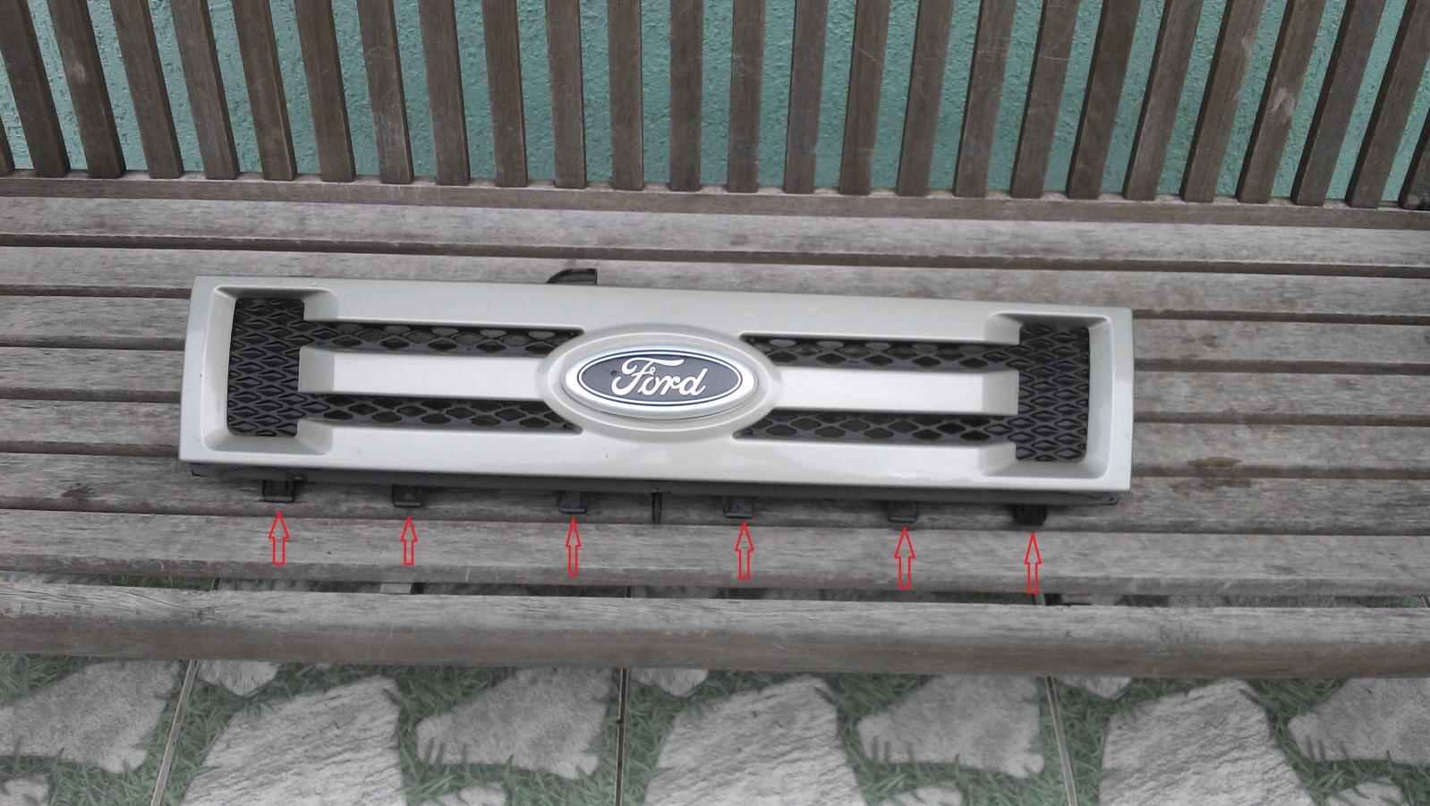 Retirar a grade dianteira do Ecosport 2012 modelo antigo 2lc369