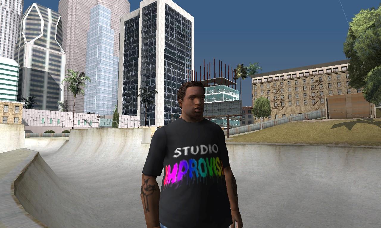 Camiseta Studio Improviso / Geneilson Santana 2me7qci
