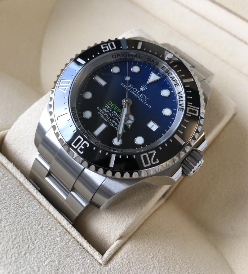 Présentation de la Rolex 116660 SDDS D-Blue James Cameron 2meto3p