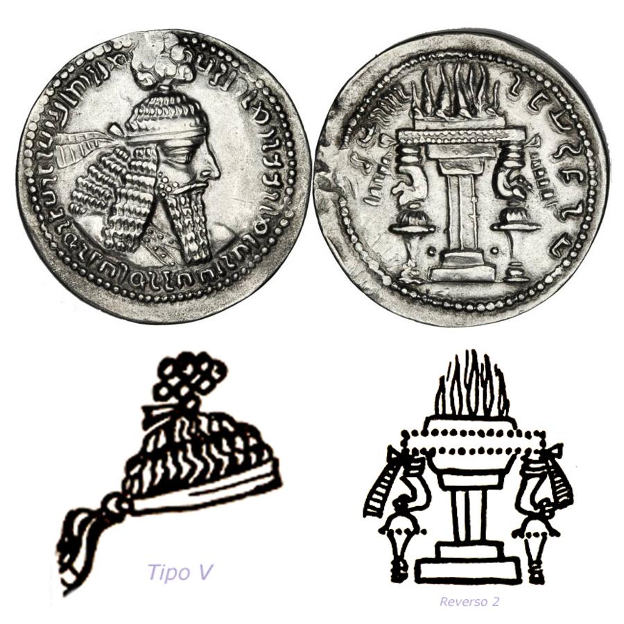 Las coronas de los shas de Persia. 2meztzd