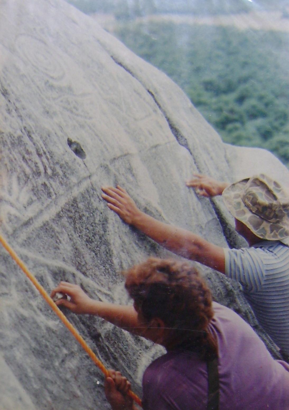 Un cerrito de Petróglifos Verdadero tesoro en Piedras 2mx493b
