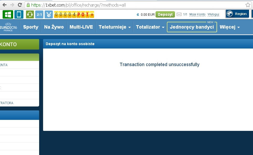 1xBet 100% bonus powitalny do kwoty 130 EUR 2n1vmlx