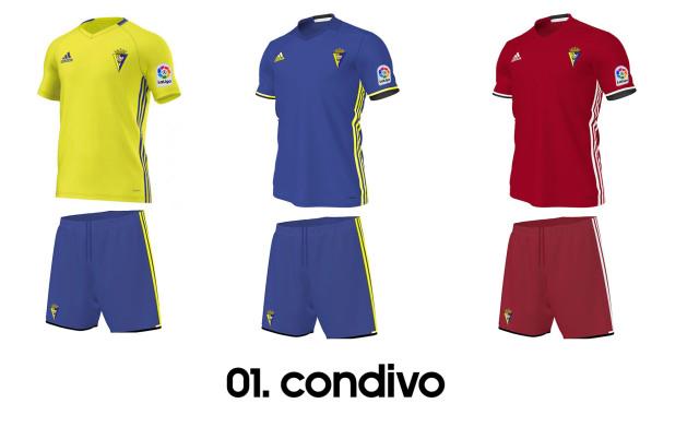 Catálogo Adidas 2016/17 - Cádiz CF (Posibles opciones)  2nhdkzs