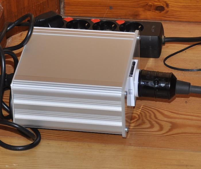 Transformador de aislamiento AC Edwards Audio ISO1: La lámpara de Aladino 2pzmwrt